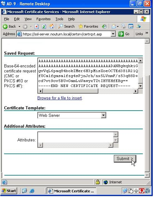 Pulse secure article kb9980 configuring windows 2003 server and web server is selected in the certificate template section since it covers server authentication which is the primary focus yelopaper Gallery