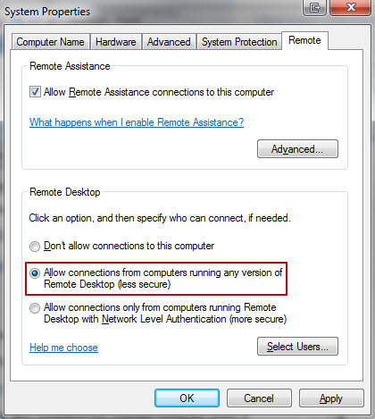 Pulse Secure Article: KB19222 - Error when connecting to a Windows 7