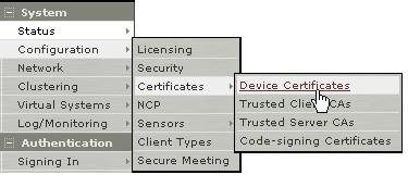 Pulse Secure Article: KB22288 - How to install an SSL
