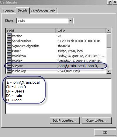 Pulse Secure Article: KB24522 - How to restrict user certificate ...